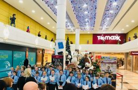Choirs Sing at Ards Shopping Centre