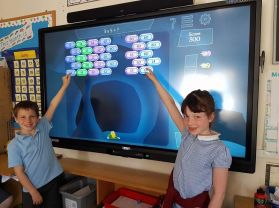 New Smartboard for P4