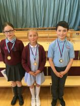 Merit and sports winners KS2